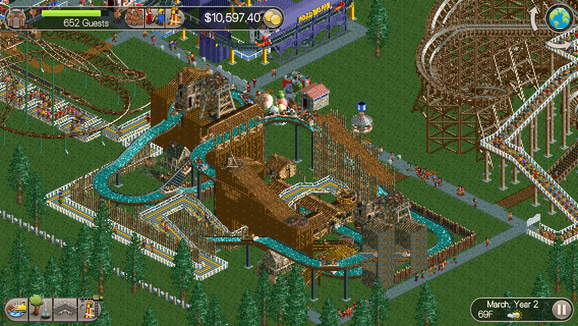 RollerCoaster Tycoon Classic review
