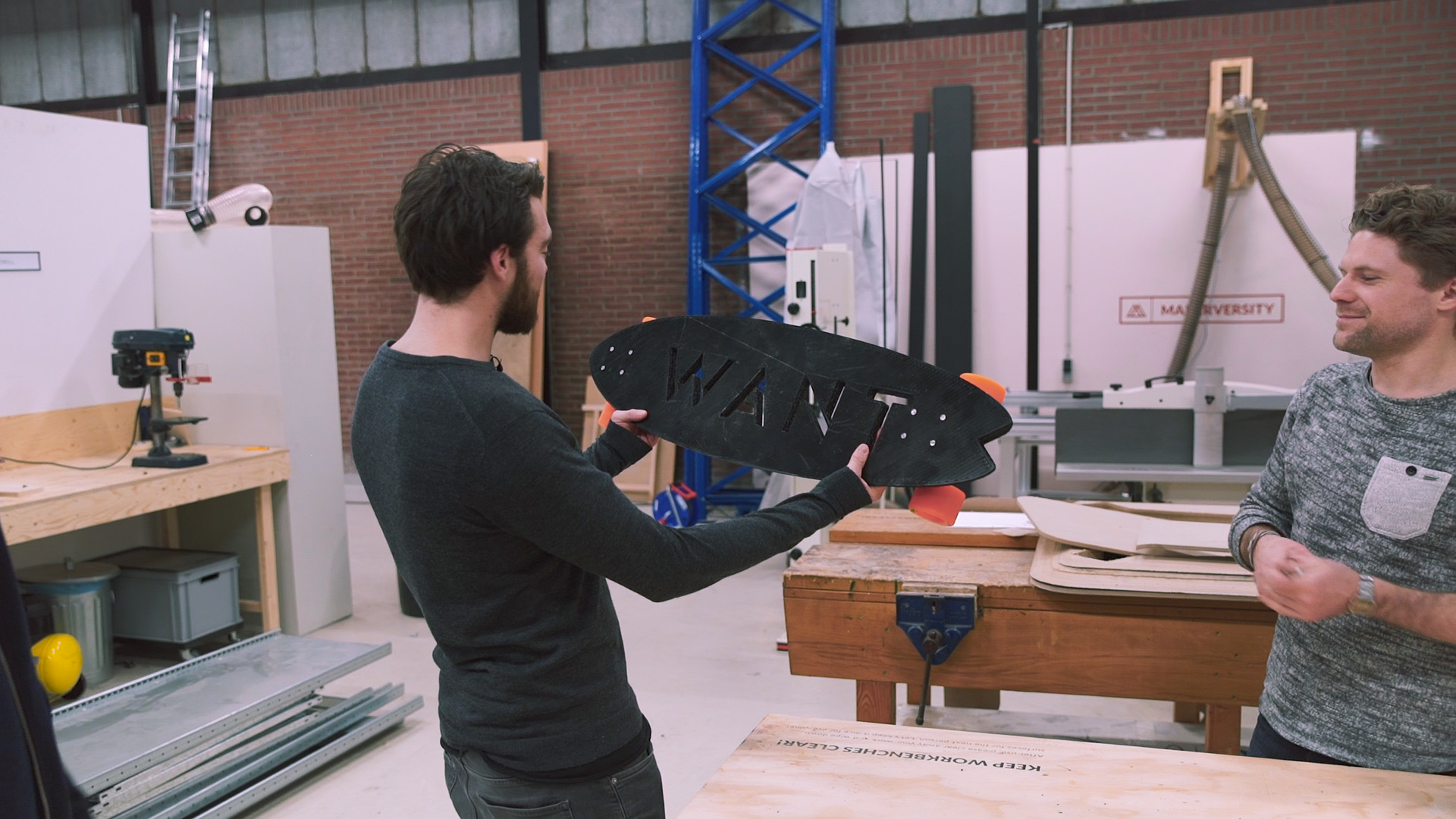 3D-geprint longboard