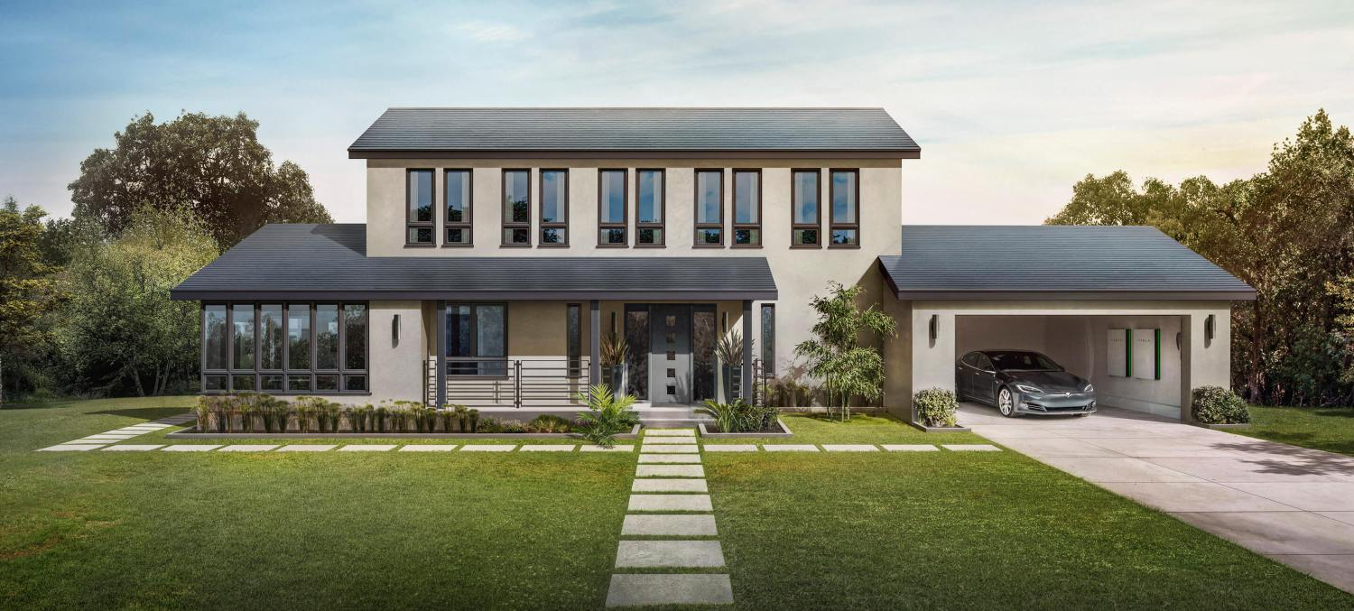 solar roof alles dat je moet weten over tesla 39 s zonnepanelen van de toekomst want. Black Bedroom Furniture Sets. Home Design Ideas