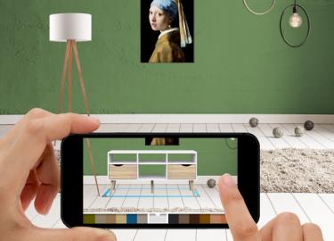 Eerst zien dan kopen de nieuwe app van laat je for Woning inrichten app