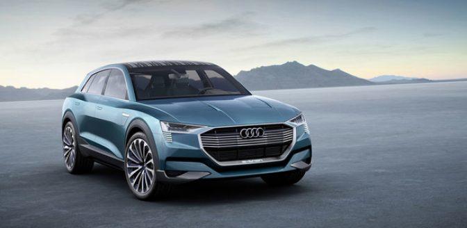 Audi elektrische auto