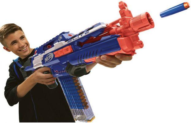 Nerf geweren en pistolen