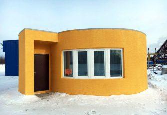 Prachtig huis is binnen 24 uur met de 3D-printer gebouwd - WANT