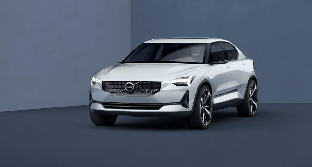Volvo elektrische auto