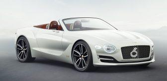 elektrische auto Bentley