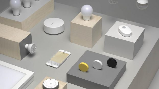 Trådfri Ikea smart home