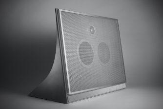 betonnen speaker