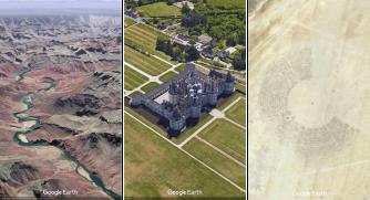 Google Earth ansichtkaart