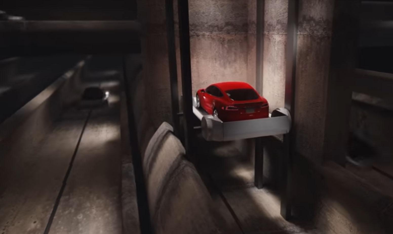Elon Musk high-tech tunnels
