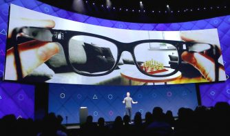 Augmented reality-brillen