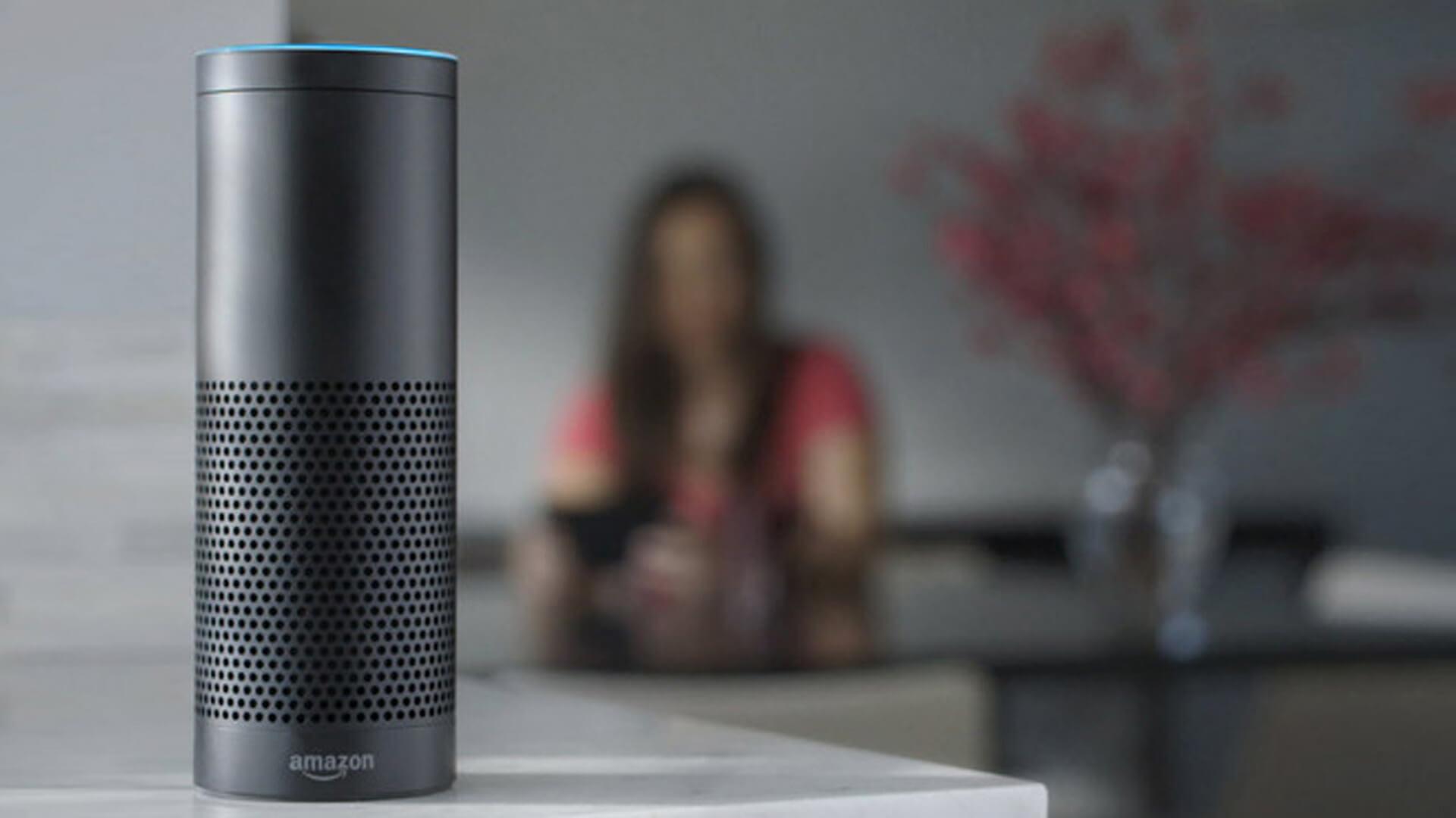 Amazon Echo speaker