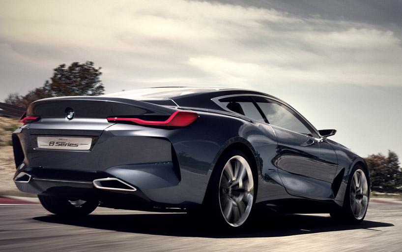 BMW 8 serie achterkant