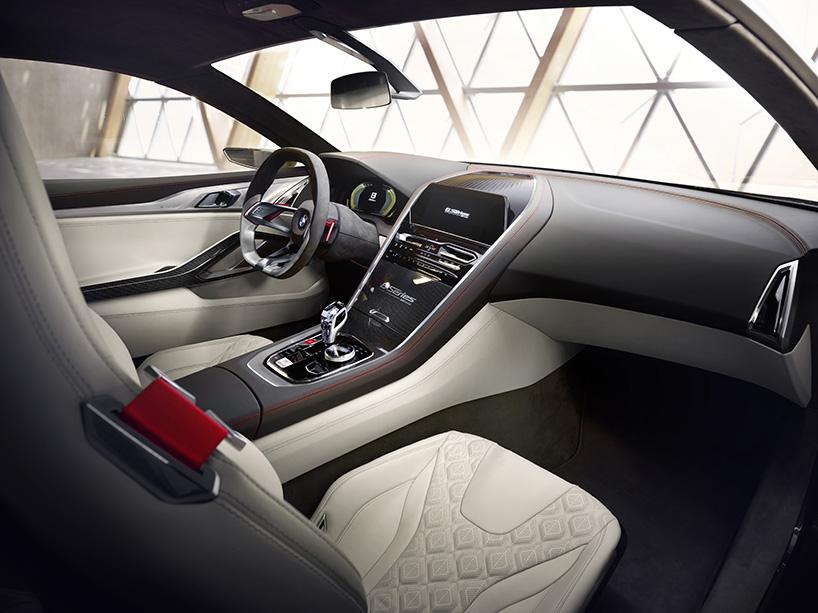 BMW 8 interieur