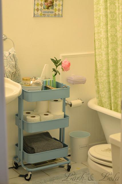11 handige Ikea hacks voor in je badkamer - WANT