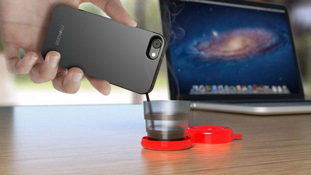 Mokase koffie zetten met smartphone