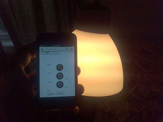 Raspberry Pi lampen
