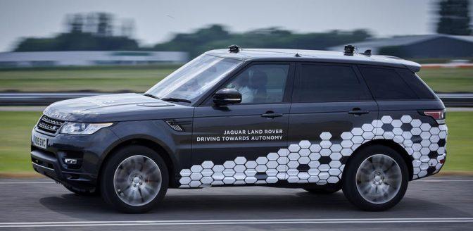 Jaguar Land Rover autonoom