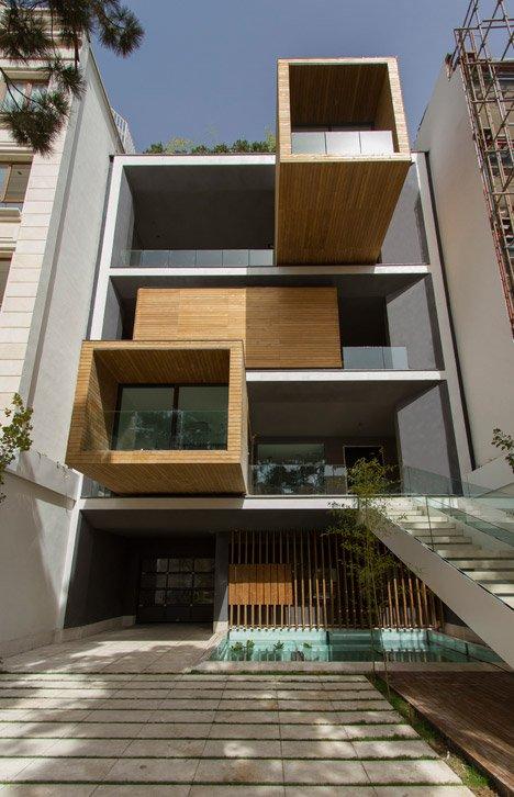 Sharifi-ha huis met roterende kamers
