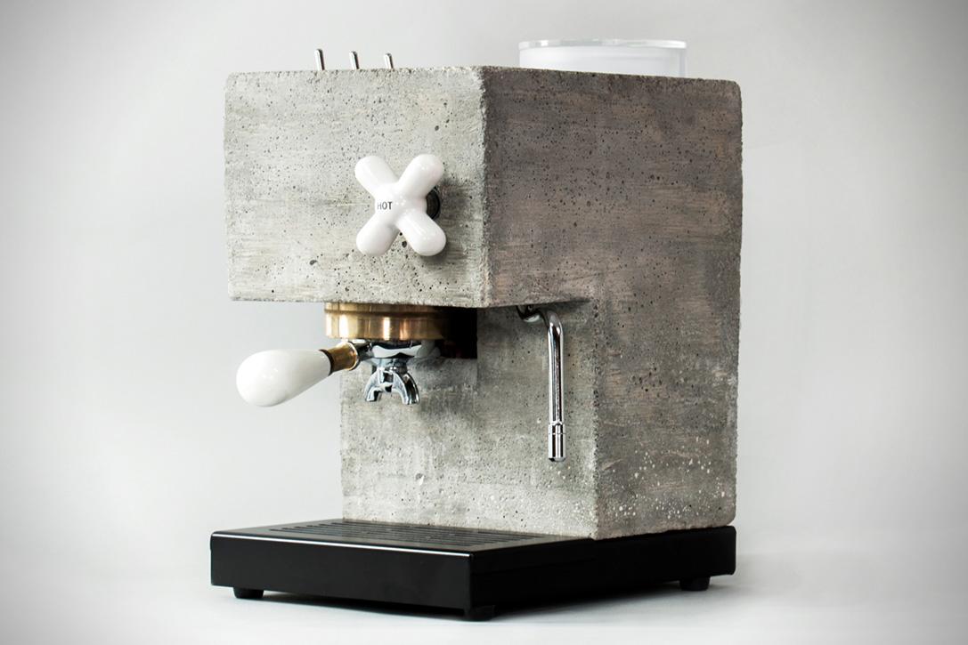 Anza Concrete Espresso Machine