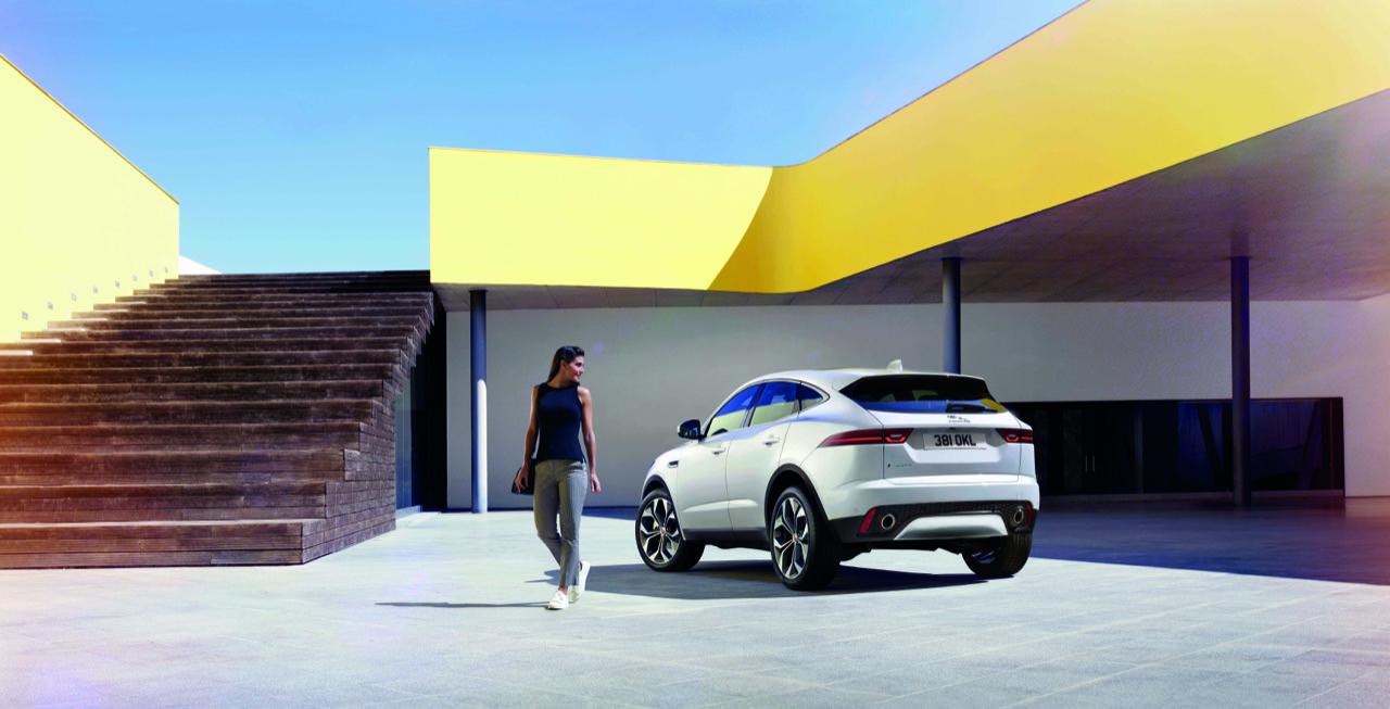 Jaguar E-Pace wereldrecord