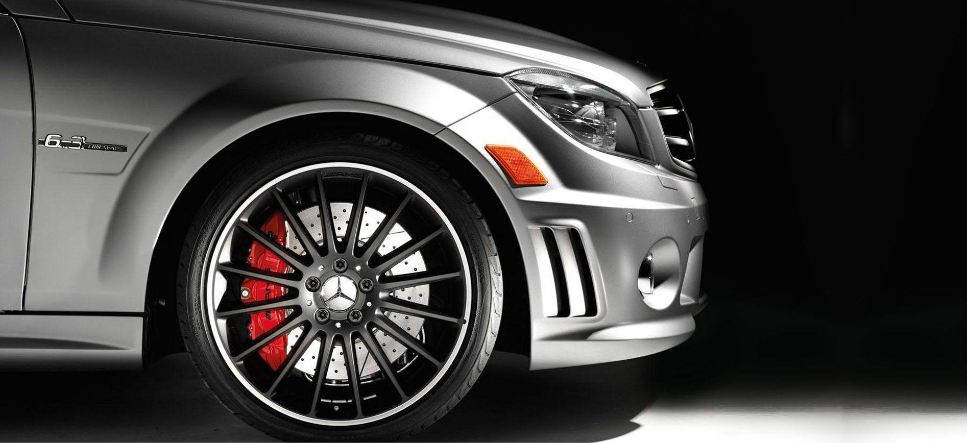 Mercedes wiel