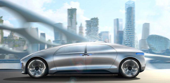 Mercedes zelfrijdende auto