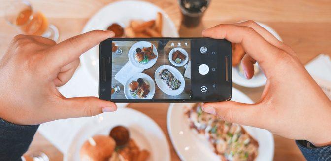 Smartphone voedsel