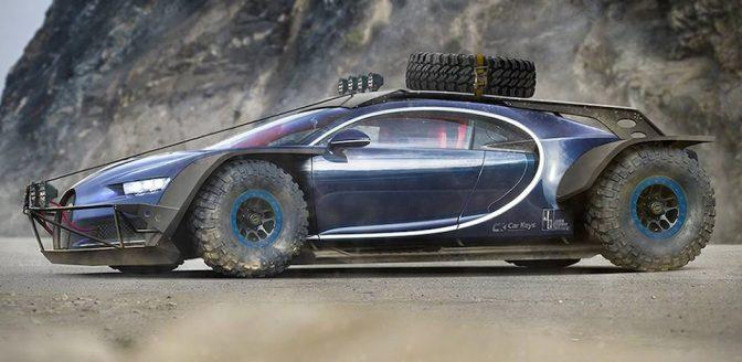 Bugatti Chiron offroader