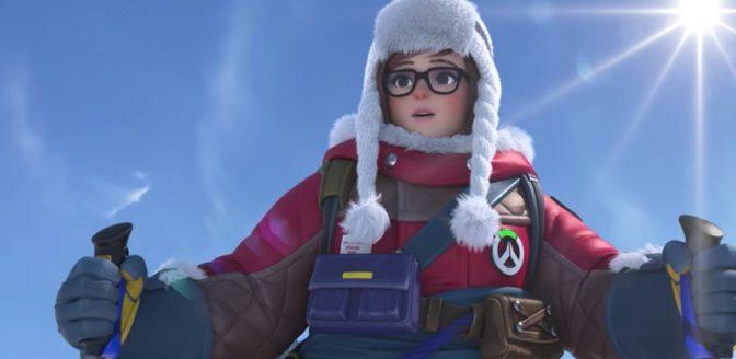 Overwatch Mei animatie