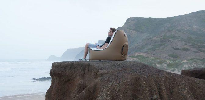 opblaasbare stoel