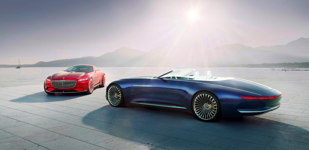 Mercedes Vision 6 Cabriolet Onthuld Cabrioconcurrent Van Tesla Want