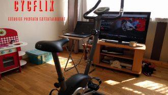 Cycflix fitness fiets