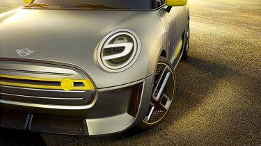 Elektrische Mini conceptauto