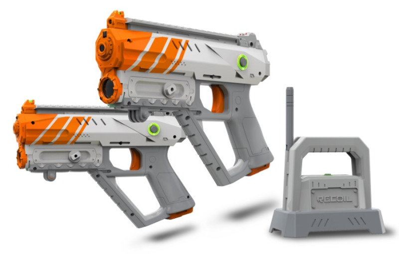 Recoil gaming augmented reality