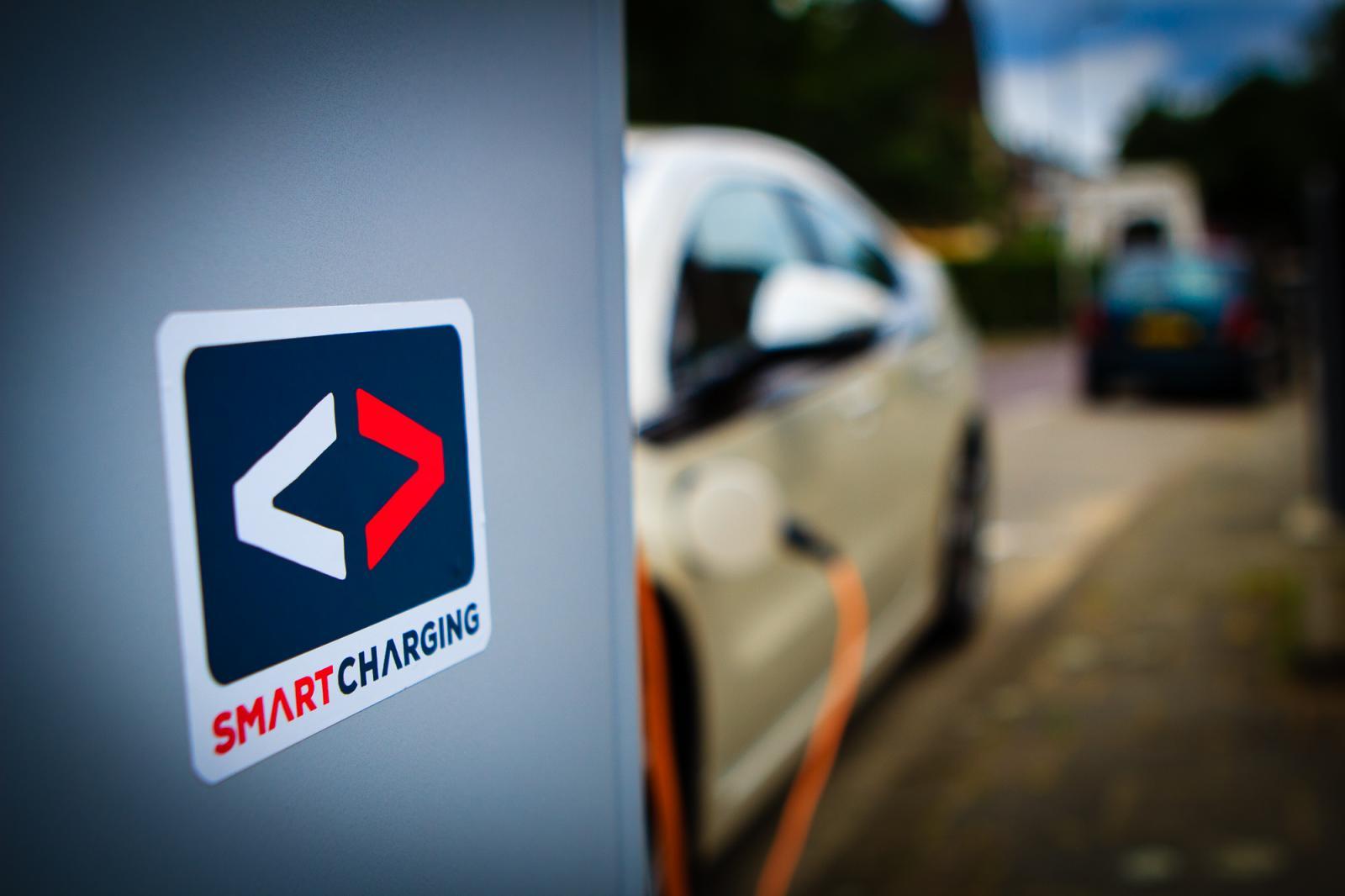 Smart Charging oplaadstation voor elektrische auto's