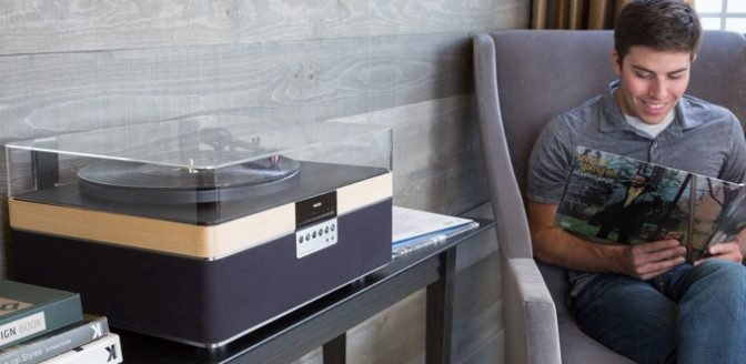 +Record Player Kickstarter platenspeler