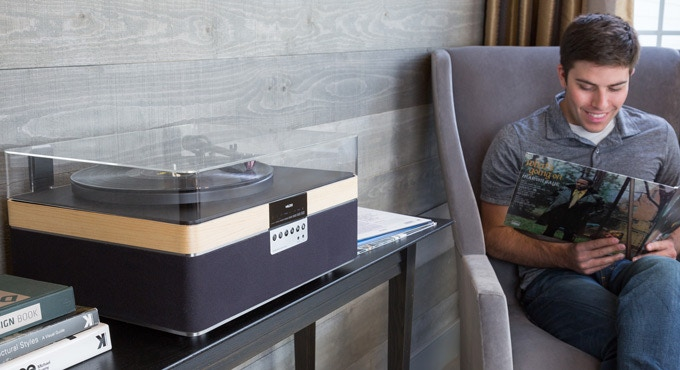 +Record Player Kickstarter platenspeler