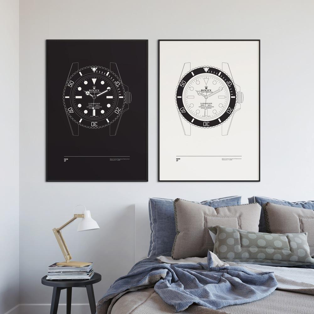 WANT posters horloges