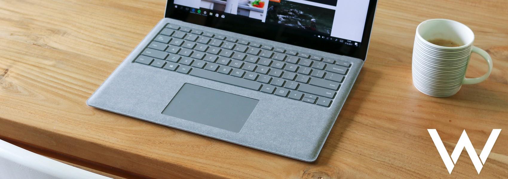 gebruik muis laptop