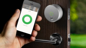 August Smart Lock Pro slim slot