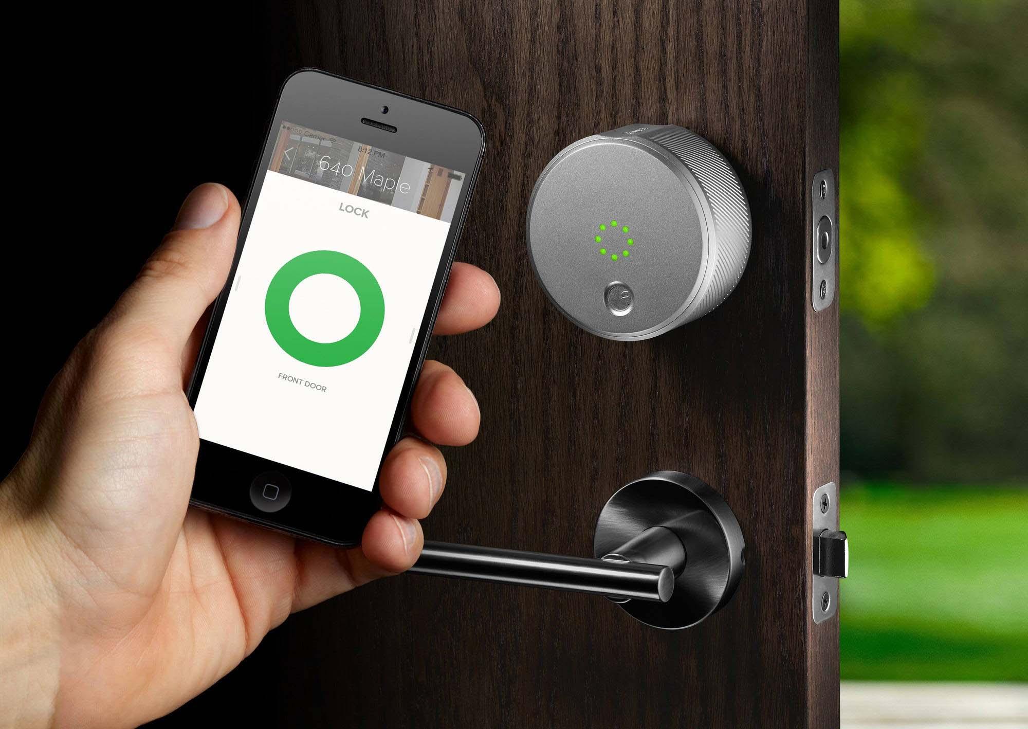 August Smart Lock Pro één van August' slimme sloten