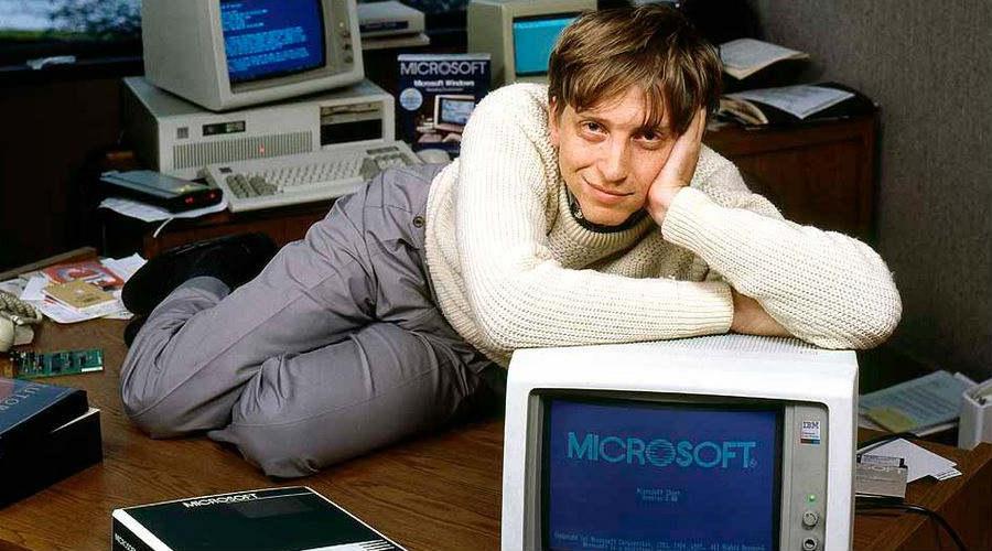 Bill Gates Microsoft Windows