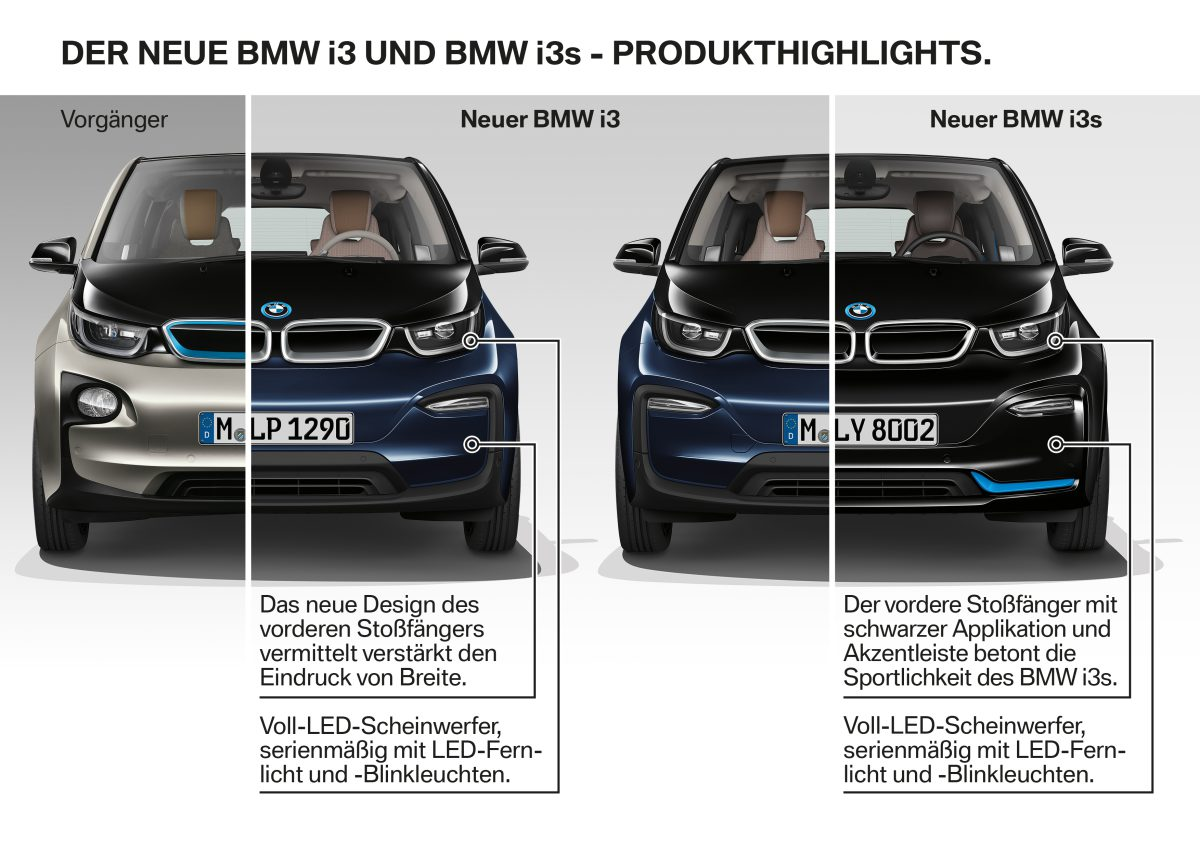 BMW i3 en BMW i3s