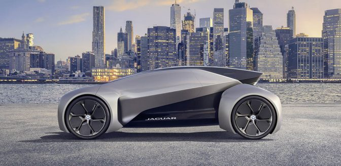 Jaguar Future-Type concept car
