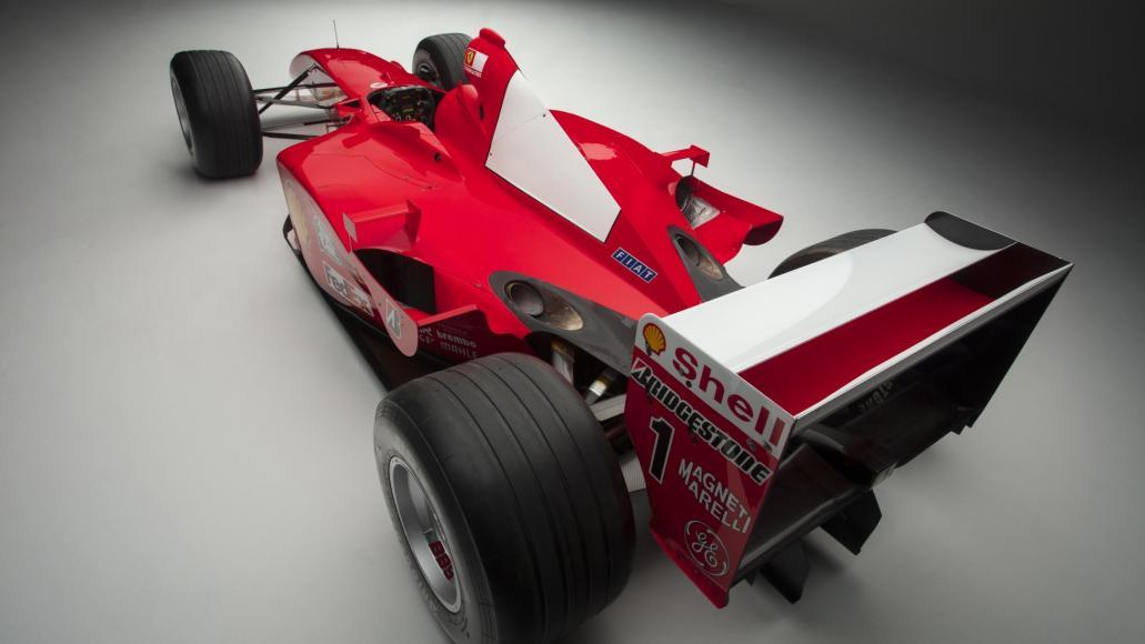 Michael Schumacher Ferrari te koop