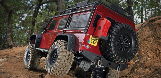afstand bestuurbare Land Rover Defender