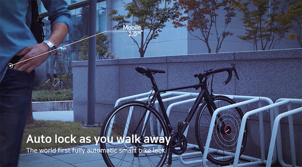 Bisecu automatisch fietsslot