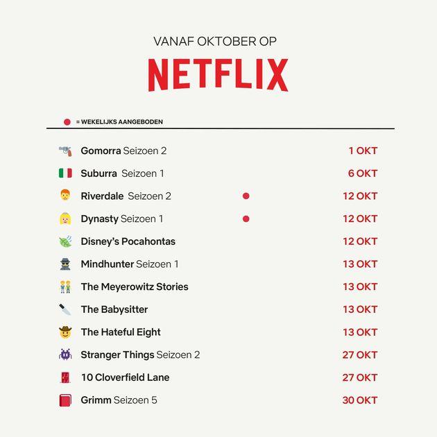 Mindhunter Netflix seizoen oktober