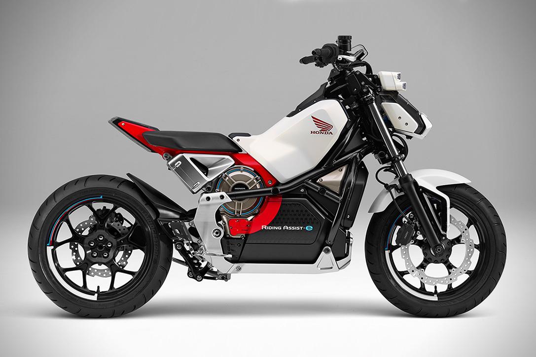 Honda Riding Assist-e elektrische motorfiets