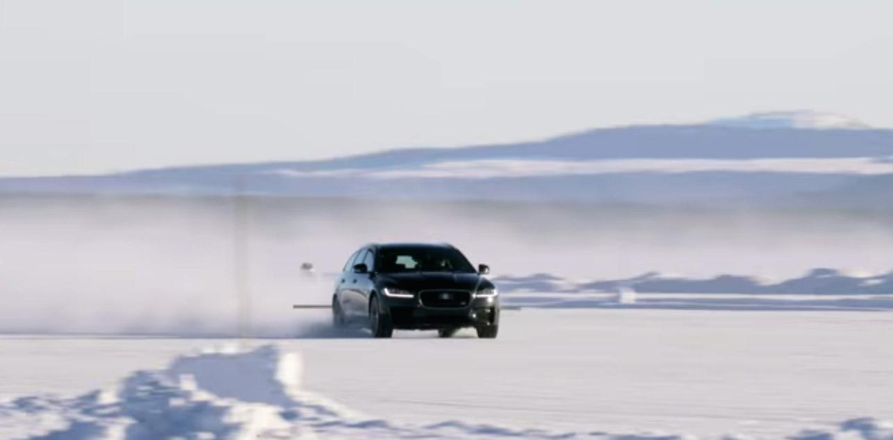 Jaguar X Sportbrake wereldrecord
